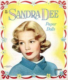 Sandra Dee paper dolls.