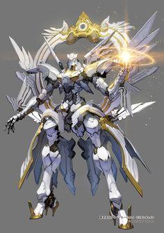 Alpha Zion- Protector del flujo 'Destello dorado'