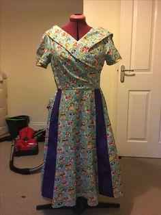Sugar skull wrap dress