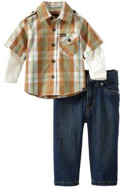 Amazon.com: Hurley Baby-Boys Infant Hurley You Boi Set: Clothing