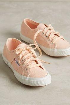 Superga Classic Sneakers Peach #anthrofave