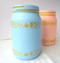 Re-Purposed Jars for Mother's Day | AllFreeHolidayCrafts.com