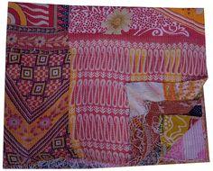 Kantha Throw Efficient Vintage Kantha Quilt Kantha Quilts Kantha Blanket Antique Quilt