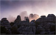 El Torcal Spain.The shapes of the rocks are amazing!