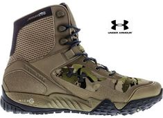 UNDER ARMOUR VALSETZ RTS TACTICAL BOOTS The UA Valsetz boots are a favorite for military & law enforcement. Well, we just took them up a notch. The same Micro G® cushioning from our running shoes make