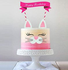 Handmade Kitty Cake Topper Decoration,Food Picks Baby Shower Cake Decor And Birthday Party Picks: Toys & Games Baby Shower Cake Decorations, Balloon Decorations Party, Baby Shower Cakes, Birthday Cake For Cat, Birthday Cake Toppers, Cake Pops, Wholesome Baby Food, Fondant, Cat Cake Topper