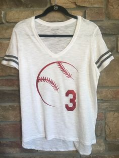 102dfa5d9 Baseball Mom Short Sleeve V-Neck