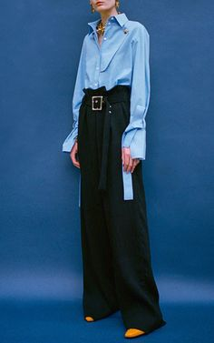 The Chambray Billie Shirt by REJINA PYO for Preorder on Moda Operandi