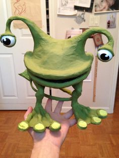 another cute paper mache monster