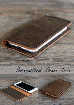PERSONALIZED iPhone Case by JooJoobs Available for iPhone 6, iPhone 6S, iPhone 6 Plus, iPhone 6S Plus and iPhone 5. Optionally, you can get it with 3 credit card pockets.