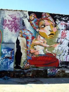 Ricardo AKN + Raul Zito + Rodrigo Branco, Sao Paulo - unurth | street art