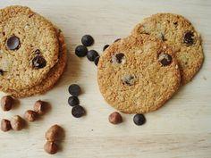 Gluten Free SCD and Veggie: Grain Free Chocolate Chip and Hazelnut Cookies GF