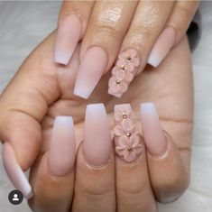 Adding some glitter nail art designs to your repertoire can glam up your style within a few hours. Check our fav Glitter Nail Art Designs and get inspired! Summer Acrylic Nails, Best Acrylic Nails, Ombre Nail Designs, Nail Art Designs, Nails Design, Swag Nails, My Nails, 3d Nails Art, Acrylic Ombre Nails