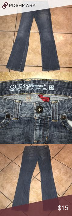 🌈3/$25 Guess Jeans Size 29 Guess Jeans Size 29 Inseam approx 33 inches Guess Jeans