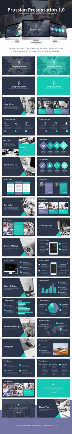 Prussian Business Keynote Template #design #slides Buy Now: http://graphicriver.net/item/prussian-business-keynote-template/12923560?ref=ksioks