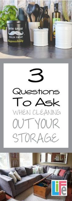 Get the sorting done quicker with these 3 questions to ask yourself.