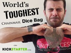 World's Toughest Chainmail Dice Bag's video poster