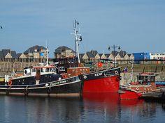 Tug boats on Chatham marina