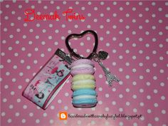 porta-chaves/keychain Macarons