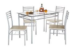 New Liles 5 Piece Breakfast Nook Dining Set by Ebern Designs. kitchen dining furniture sale from top store