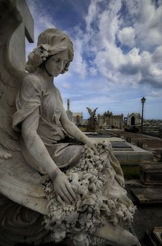 Old San Juan Cemetery Angel | Flickr - Photo Sharing!