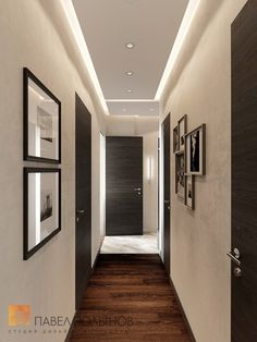 """Photo design of the hall from the project """"Design of a three-room apartment 84 sq. House Ceiling Design, Ceiling Design Living Room, Bedroom False Ceiling Design, Home Room Design, Small House Design, Modern House Design, Home Interior Design, Living Room Designs, Flur Design"""