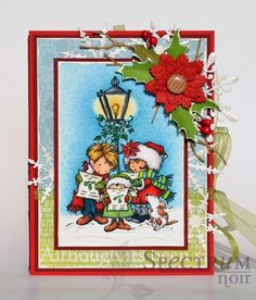 The colors used on this stamp are: Skin: TN3, CR2, FS2, FS4, FS6, FS9, BG2 Street lamp: IG3, IG5,IG7,IG8, GB1, GB2, GB4, JD1, JD6, JD7 Do...