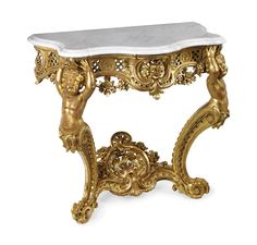 date unspecified A FRENCH GILTWOOD CONSOLE  OF LOUIS XV STYLE, LATE 19TH CENTURY  Price realised GBP 20,000 French Furniture, Furniture Design, Furniture Near Me, Table Furniture, Entryway Decor, Entryway Tables, Early American Furniture, Luxury Furniture Stores, Console Table