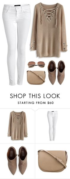 """""""Cozy weekend look"""" by cindycook10 ❤ liked on Polyvore featuring Chicwish, J Brand, Valentino, CÉLINE and Polaroid"""
