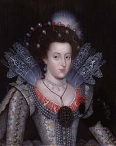 Portrait of Princess Elizabeth Stuart, later Queen of Bohemia, called the Winter Queen, by an unknown artist, 1613. Description from uk.pinterest.com. I searched for this on bing.com/images