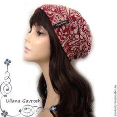 Купить Шапка трикотажная Лесси - шапка, шапка женская, шапка осенняя, шапка трикотажная