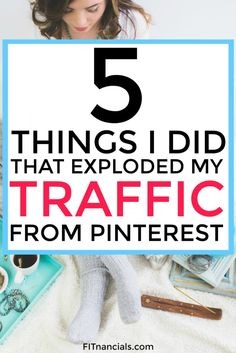Find out how Tiffany exploded her blog traffic all from Pinterest. Tons of free resources for beginner and pro bloggers. This is such a helpful list.