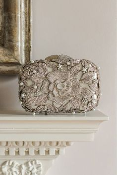 Browse some of the most stunning bridal clutch bags that are perfect for super-stylish brides. Bridal Clutch Bag, Bow Clutch, Wedding Clutch, Beaded Clutch, Clutch Bags, Wedding Earrings, Wedding Shoes, Dune, Bridal Jewelry