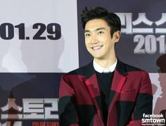 Siwon at Jackie Chan's red carpet movie premiere of Police Story