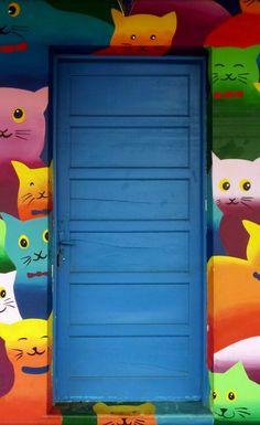 ♪ Puerta en Blumenaun en Santa Catarina, Brasil