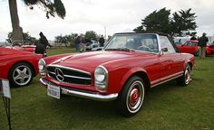 Mercedes-Benz 250 SL convertible 1967 by johnei, via Flickr