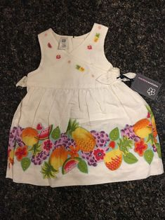 Baby Gap Girl 3-6 Months Red Poppy All In One Outfit Baby Brand New With Tags