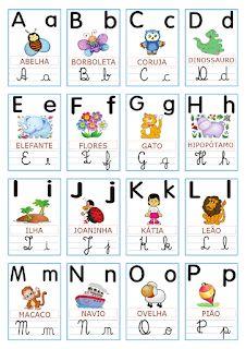 150 Melhores Imagens De Alfabeto Para Imprimir Atividades De