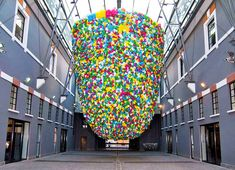 Plastic-Bags-by-Pascale-Marthine-Tayou-in-Rome