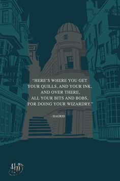 Diagon Alley, all the supplies you need for Harry Potter Quotes, Harry Potter Fan Art, Harry Potter Books, Harry Potter World, Slytherin And Hufflepuff, Hogwarts, Yer A Wizard Harry, Diagon Alley, Fantastic Beasts And Where