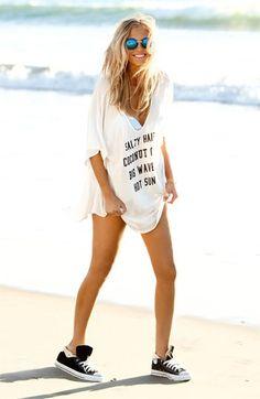 white beach style