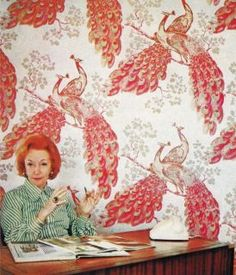 FLORENCE BROADHURST: HER SECRET AND EXTRAORDINARY LIVES. Fabulous lady, fabulous colour composition.