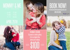 mommy-and-me mini sessions - APRIL 25th - Stillwater, OK
