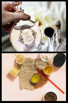 DIY gift ideas - bath and body recipes