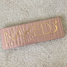 Urban Decay Naked 3 Palette Just like new, I've hardly ever used this palette. Comes without box, brush still in plastic. Urban Decay Makeup Eyeshadow