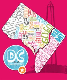 """The DC Stereotype Map: is Columbia Heights """"bikes, beer and burglaries""""? Class Auction Projects, Washington Dc Map, Columbia Heights, Dc Travel, Rock Creek, Island Girl, Laugh Out Loud, Things To Do, Random Things"""