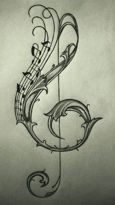 violin key drawing / sketch on We Heart It - Image of someone discovered. Discover (and save!) Your own pictures and videos on We Heart It - Key Drawings, Music Drawings, Pencil Art Drawings, Art Drawings Sketches, Music Tattoos, Body Art Tattoos, Tatoos, Foot Tattoos, Flower Tattoos