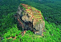 Sigiriya the Lion's Rock, Sri Lanka