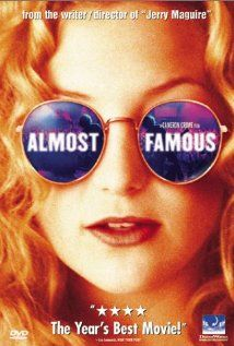 Almost Famous (2000)    A high-school boy is given the chance to write a story for Rolling Stone Magazine about an up-and-coming rock band as he accompanies it on their concert tour.    Director: Cameron Crowe  Writer: Cameron Crowe  Stars: Billy Crudup, Frances McDormand and Kate Hudson