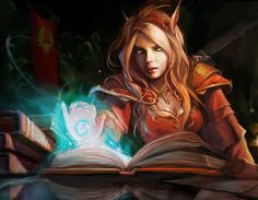 Blood elves are my faves. Save Night Elves, actually. ;)